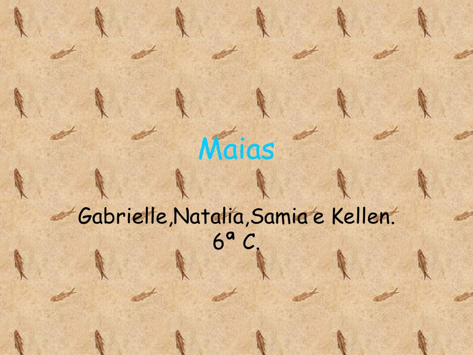 Gabrielle,Natalia,Samia e Kellen. 6ª C.