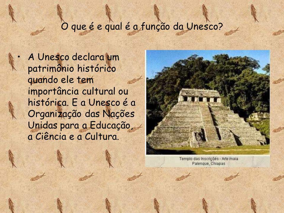 O que é e qual é a função da Unesco