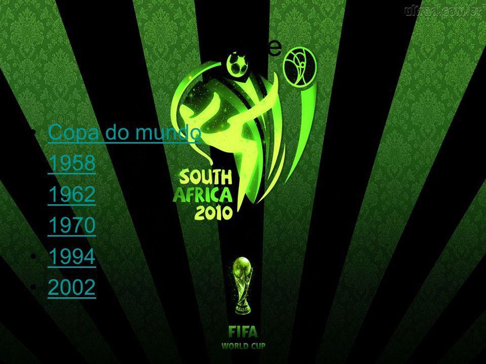 Índice Copa do mundo 1958 1962 1970 1994 2002