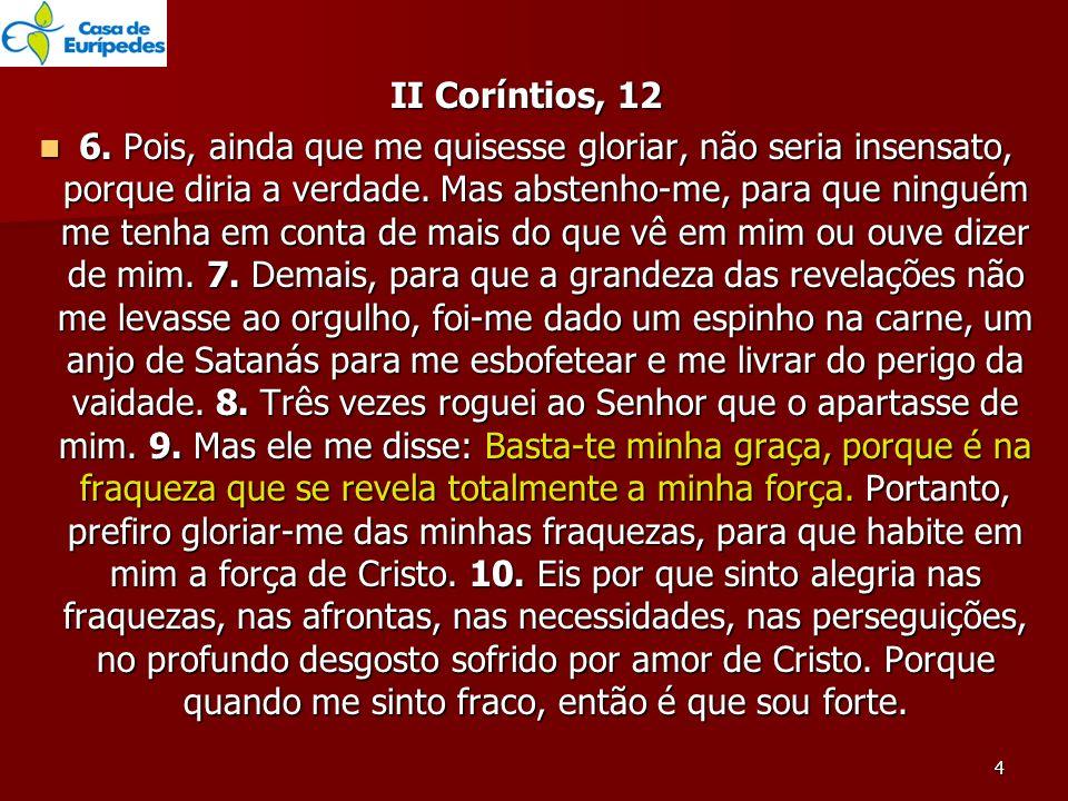 II Coríntios, 12