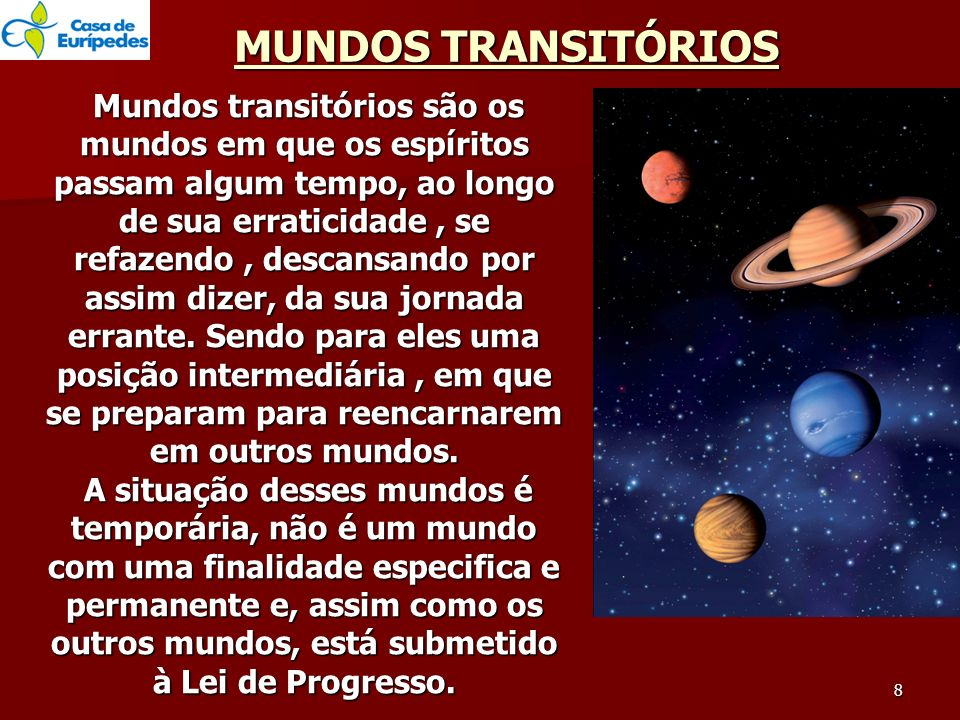 MUNDOS TRANSITÓRIOS
