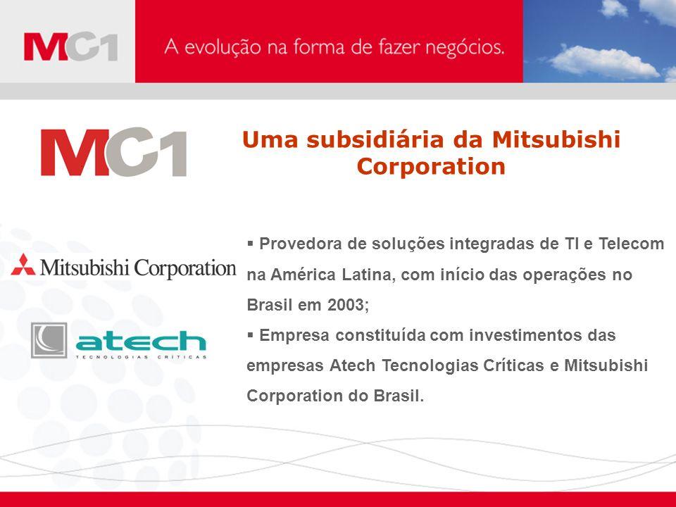 Uma subsidiária da Mitsubishi Corporation