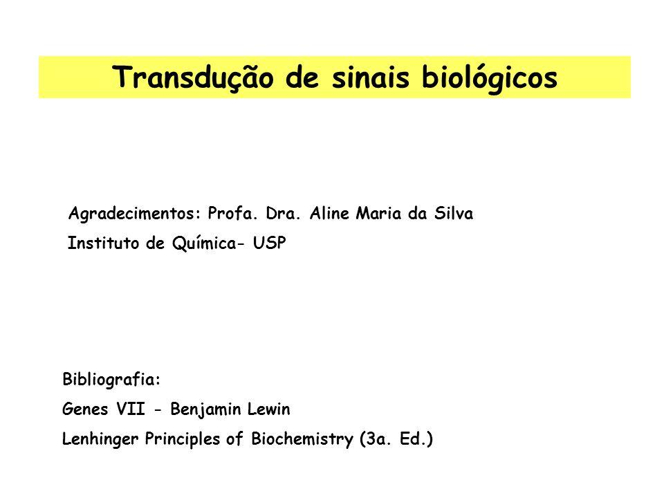 Transdução de sinais biológicos