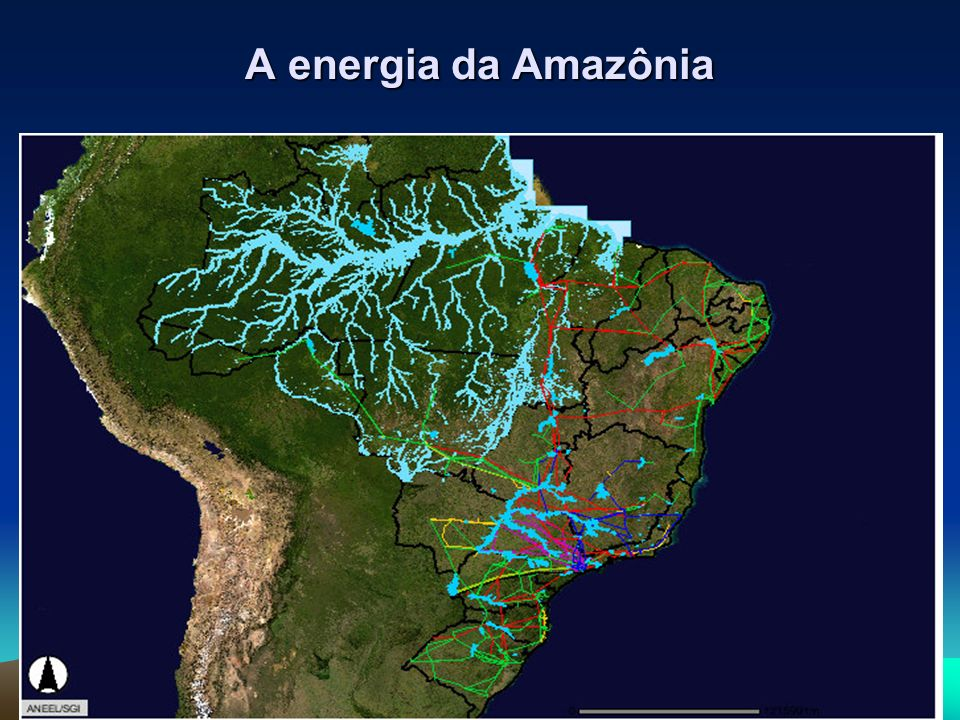 A energia da Amazônia
