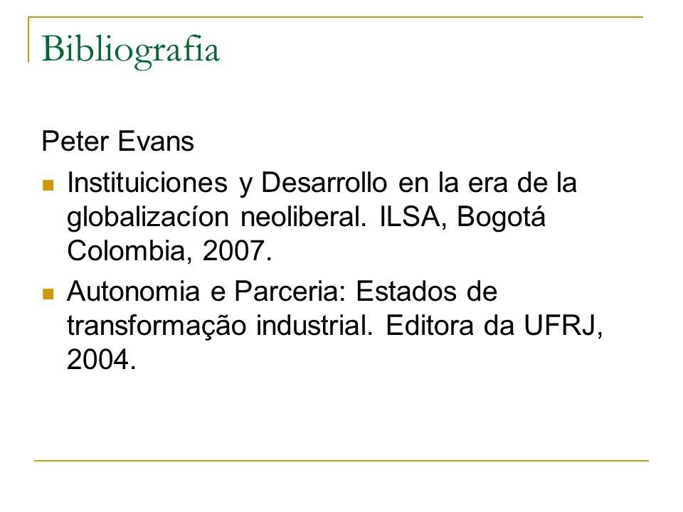 Bibliografia Peter Evans