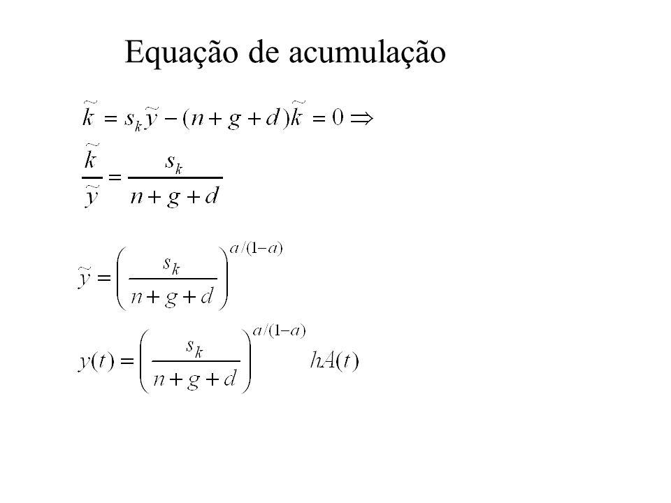 Equação de acumulação