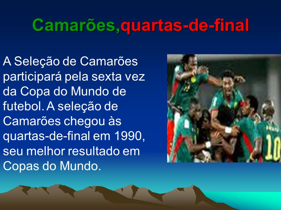 Camarões,quartas-de-final