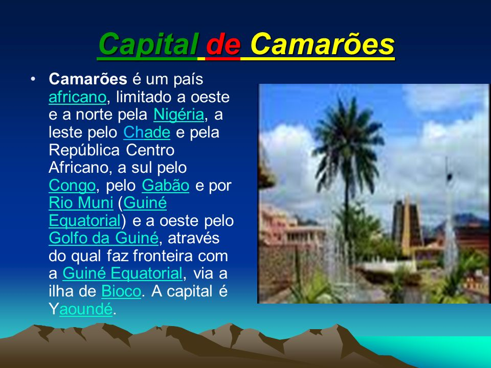 Capital de Camarões
