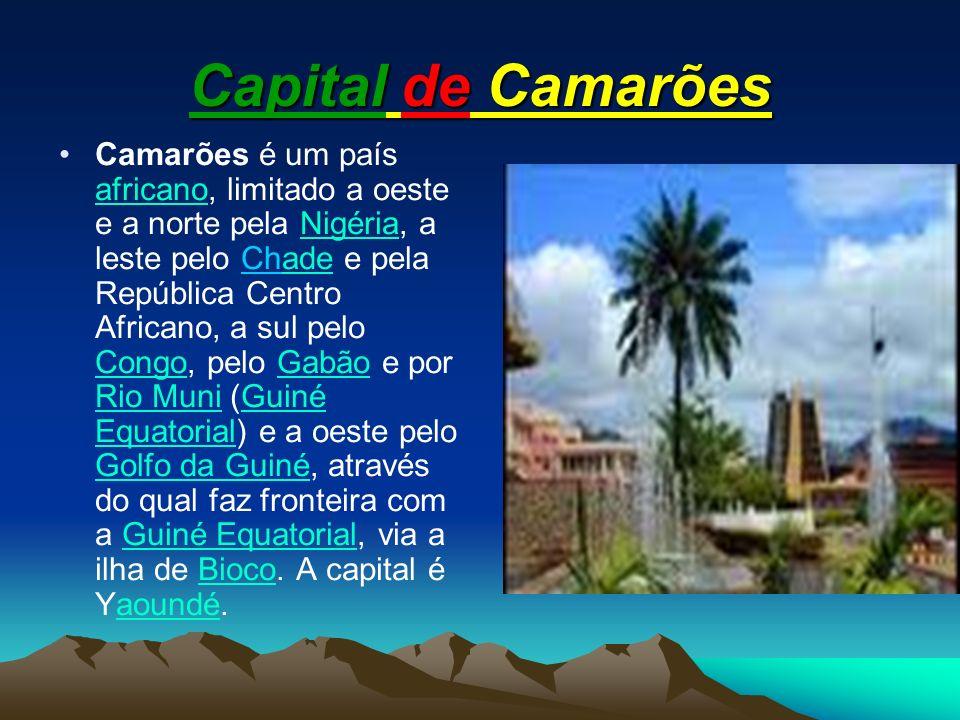 Capital de Camarões
