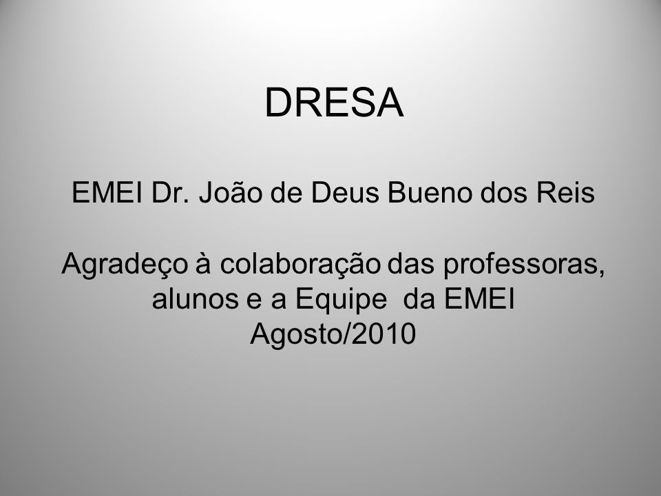DRESA EMEI Dr.