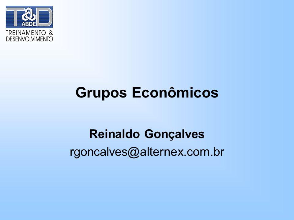 Reinaldo Gonçalves rgoncalves@alternex.com.br