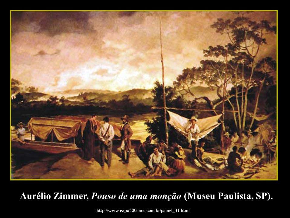 Aurélio Zimmer, Pouso de uma monção (Museu Paulista, SP).