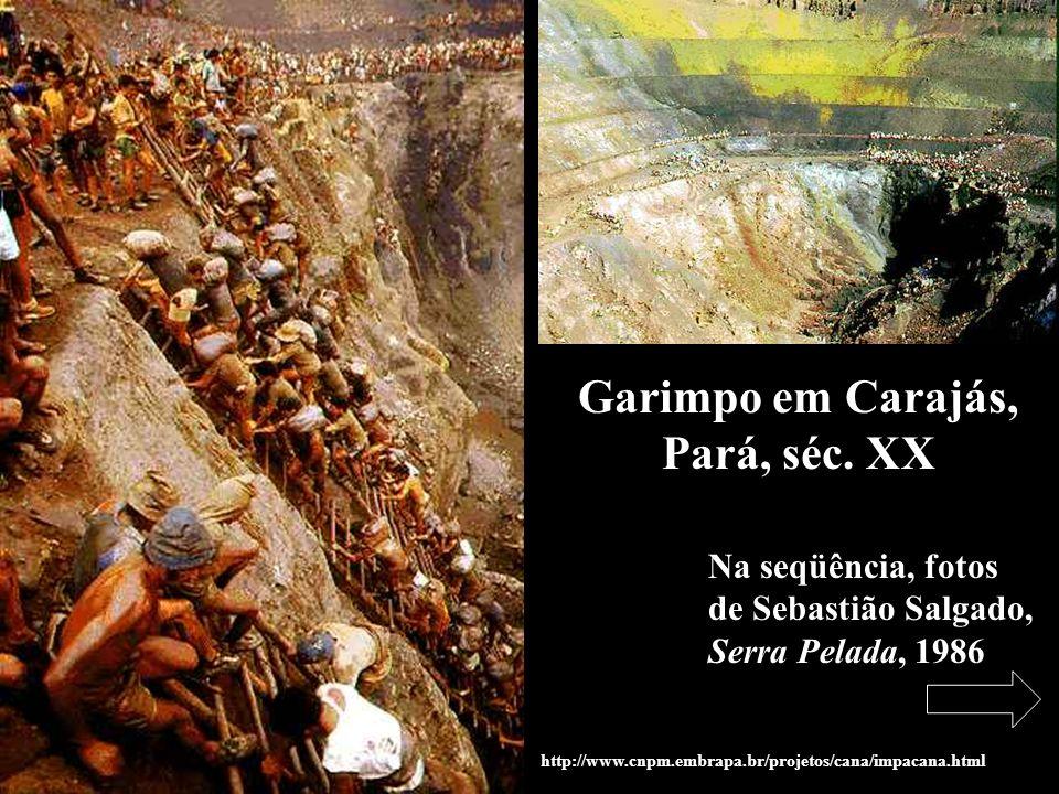 Garimpo em Carajás, Pará, séc. XX