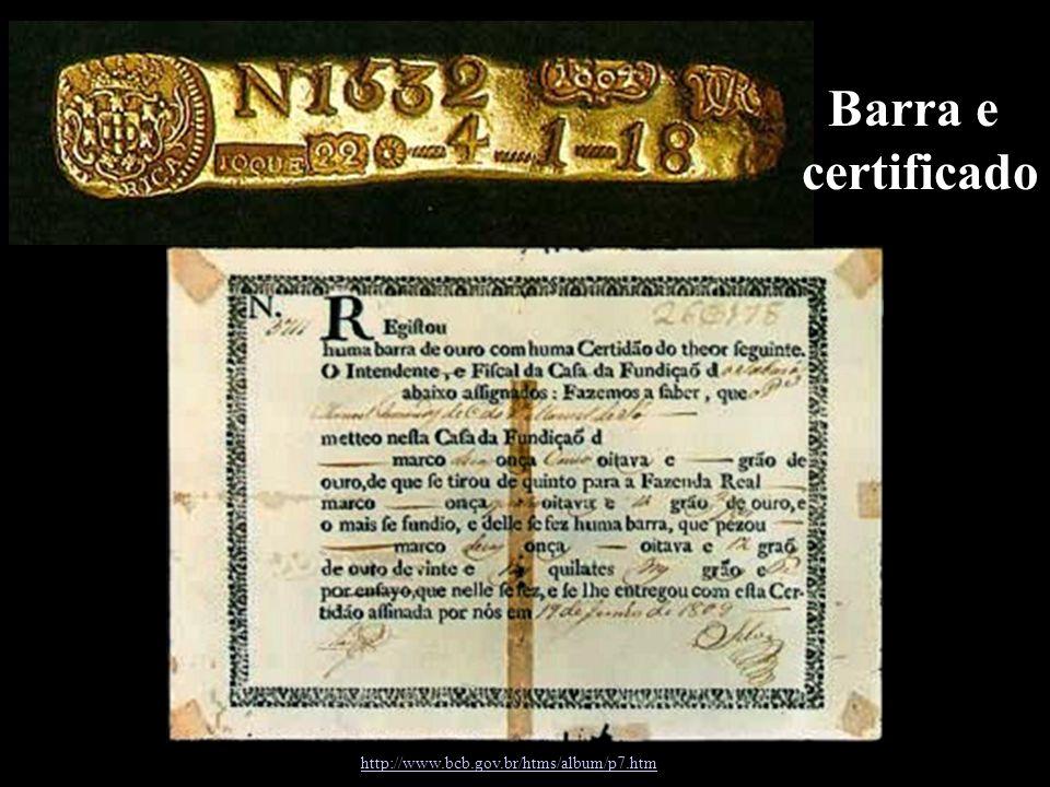 Barra e certificado http://www.bcb.gov.br/htms/album/p7.htm 0
