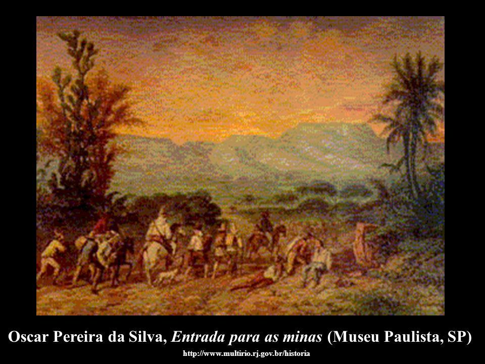 Oscar Pereira da Silva, Entrada para as minas (Museu Paulista, SP)