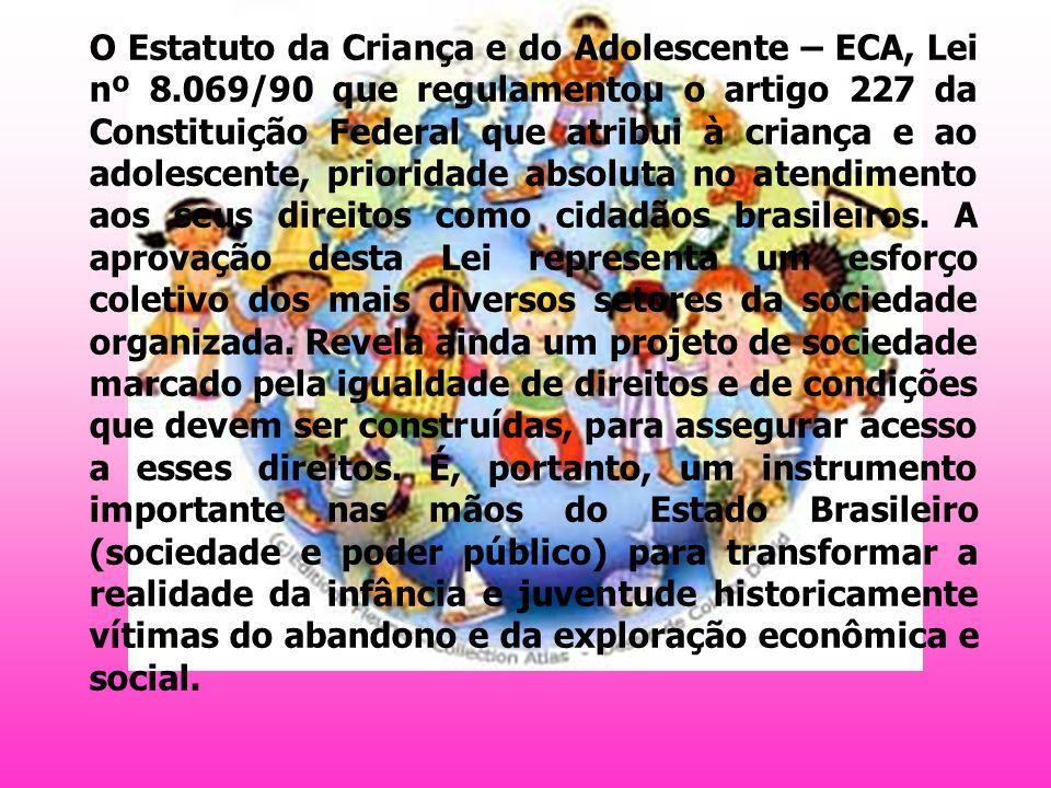 O Estatuto da Criança e do Adolescente – ECA, Lei nº 8