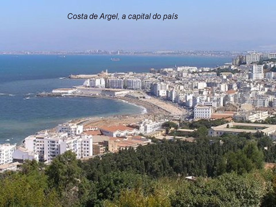 Costa de Argel, a capital do país
