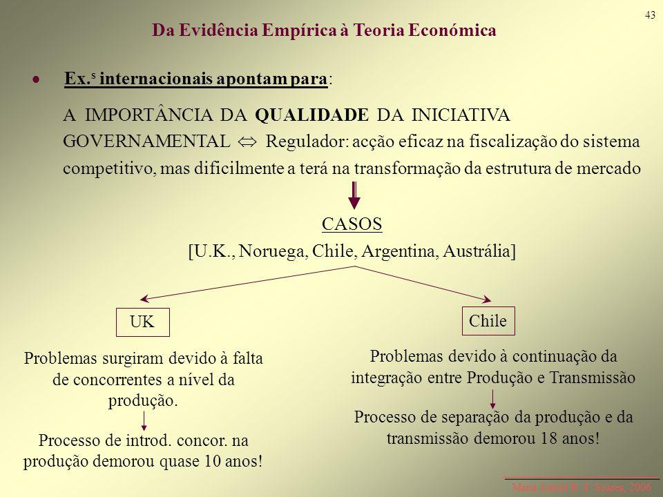 Da Evidência Empírica à Teoria Económica