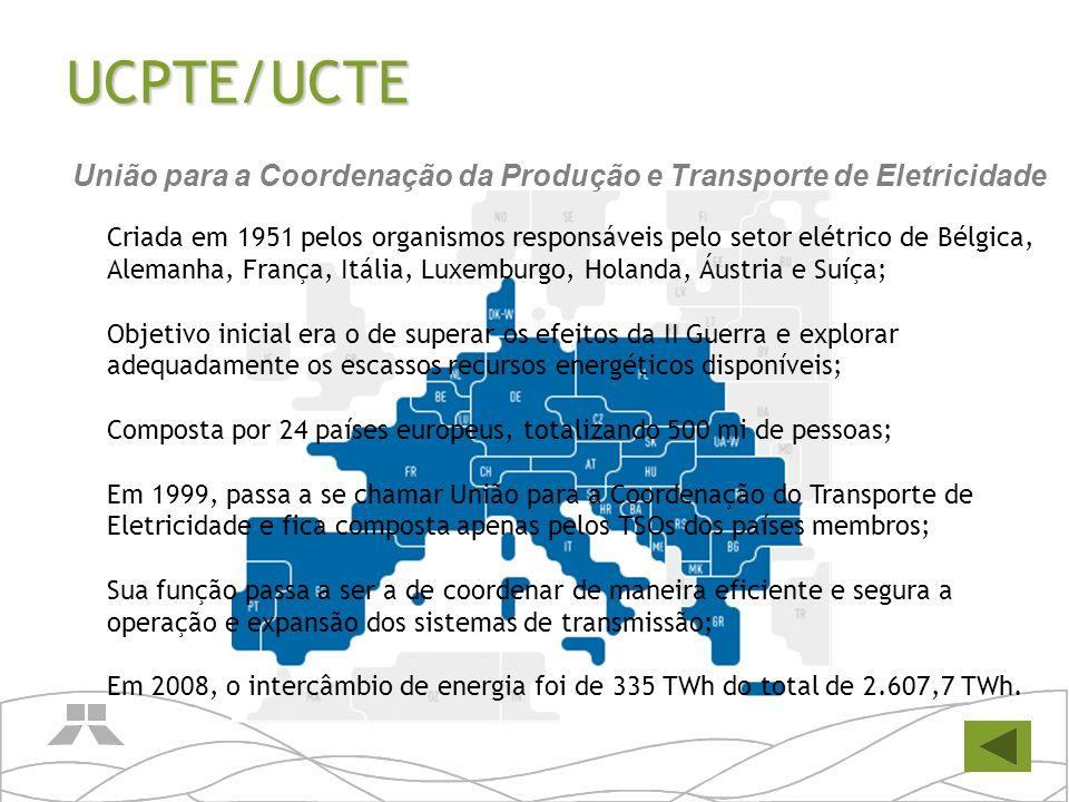 União para a Coordenação da Produção e Transporte de Eletricidade