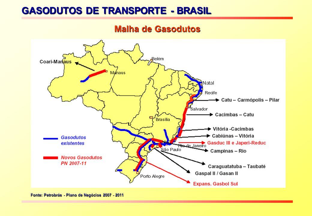 GASODUTOS DE TRANSPORTE - BRASIL