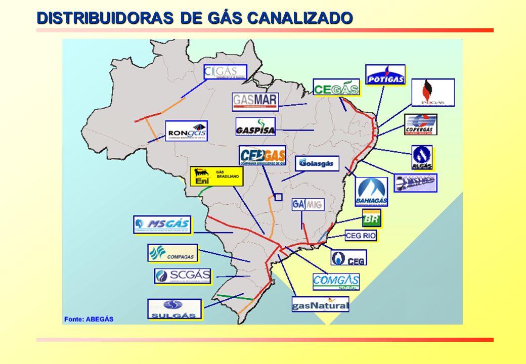 DISTRIBUIDORAS DE GÁS CANALIZADO