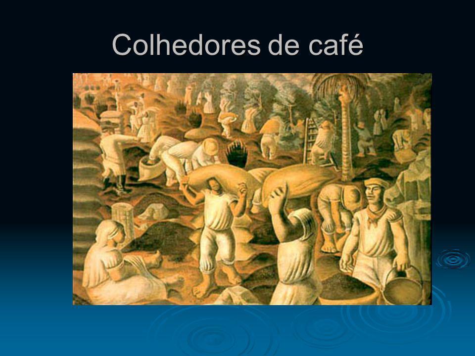 Colhedores de café