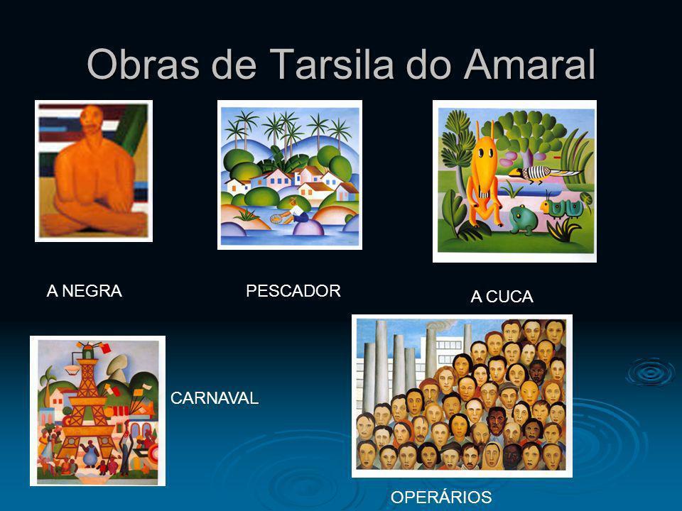 Obras de Tarsila do Amaral