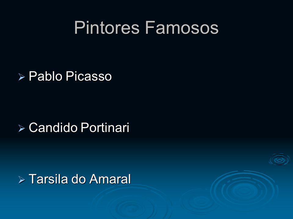 Pintores Famosos Pablo Picasso Candido Portinari Tarsila do Amaral