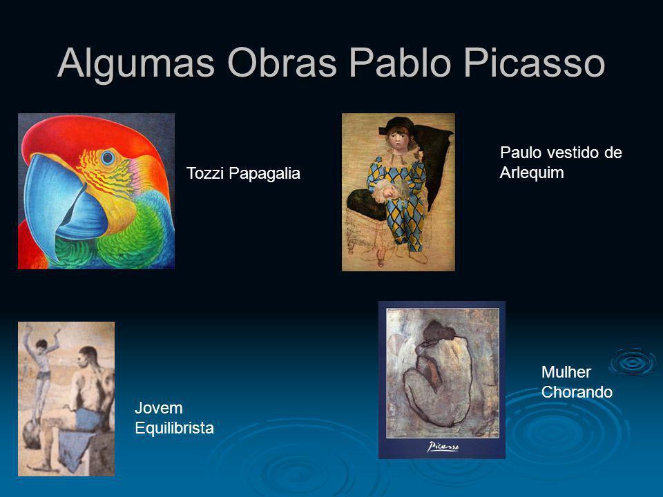 Algumas Obras Pablo Picasso