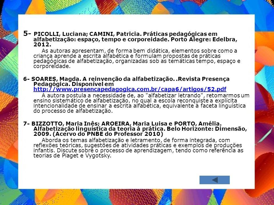 5- PICOLLI, Luciana; CAMINI, Patricia