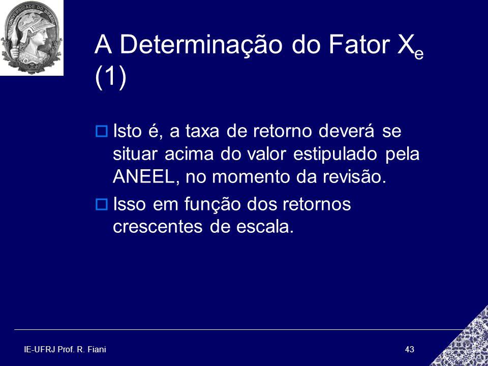 A Determinação do Fator Xe (1)