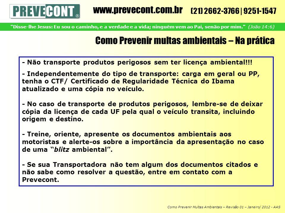 Como Prevenir multas ambientais – Na prática