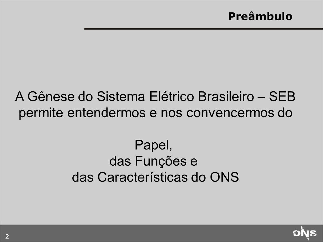 A Gênese do Sistema Elétrico Brasileiro – SEB