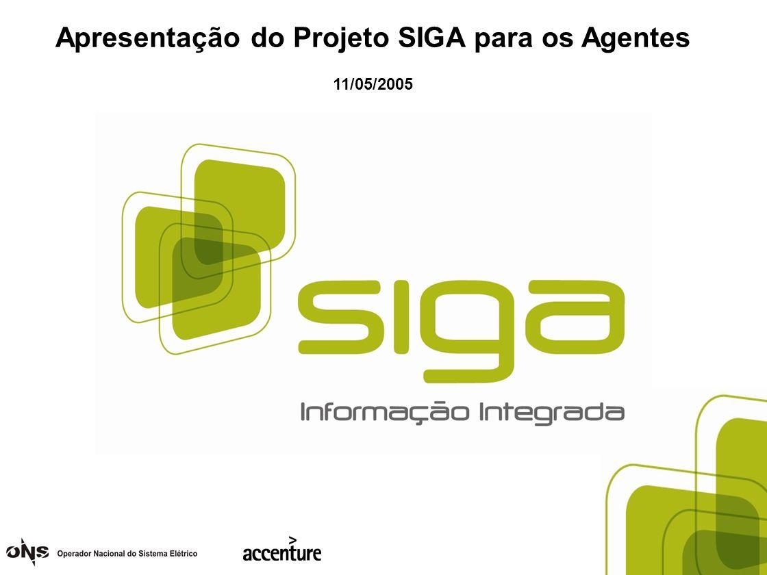 Apresentação do Projeto SIGA para os Agentes