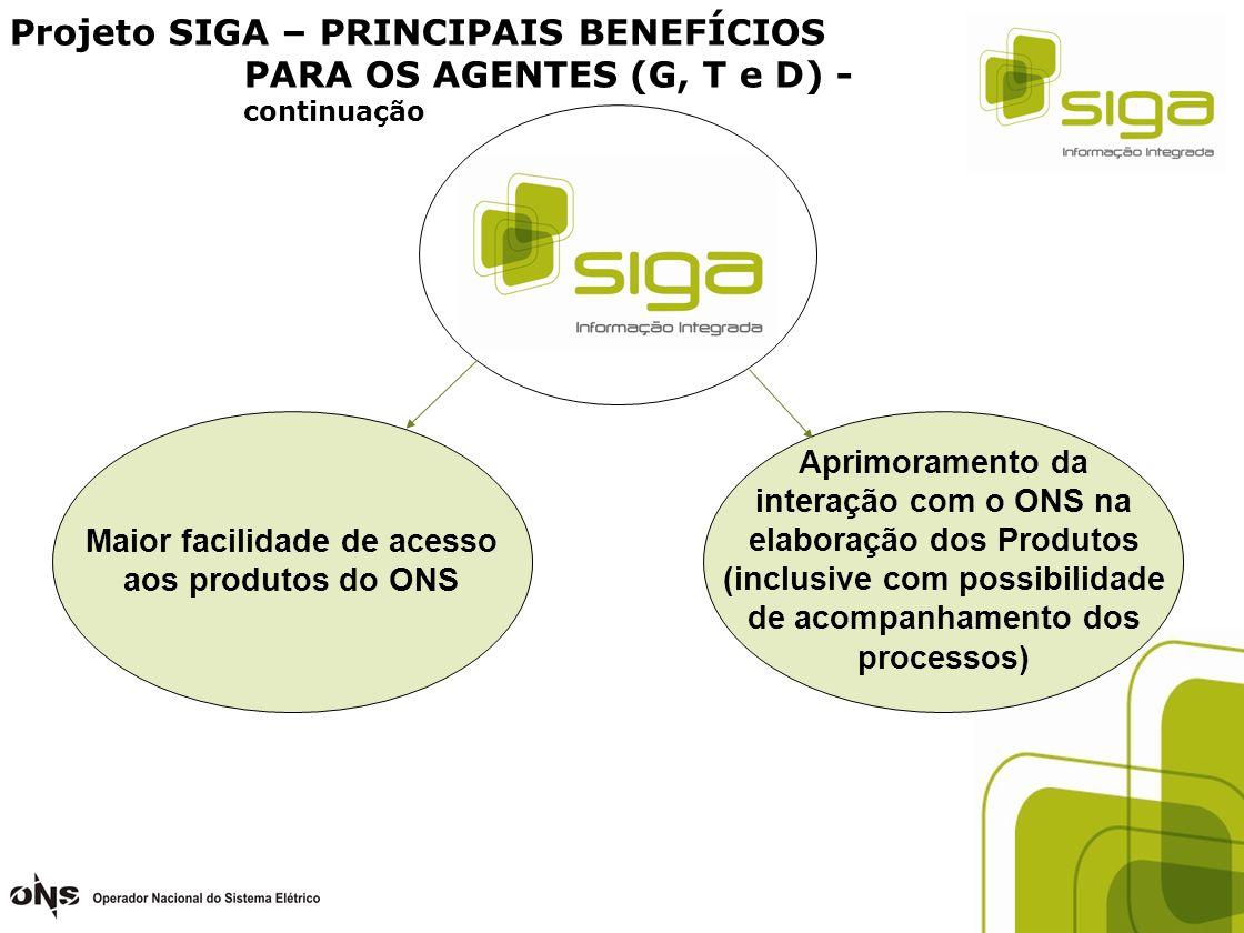 Maior facilidade de acesso aos produtos do ONS