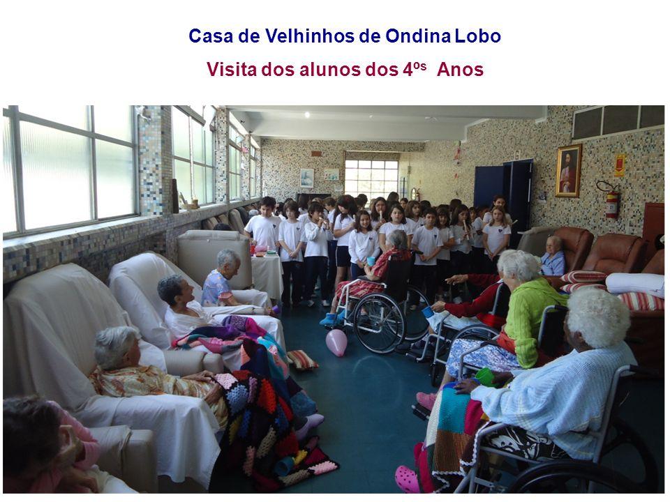 Casa de Velhinhos de Ondina Lobo Visita dos alunos dos 4ºs Anos