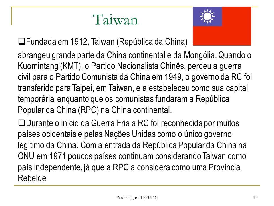 Taiwan Fundada em 1912, Taiwan (República da China)