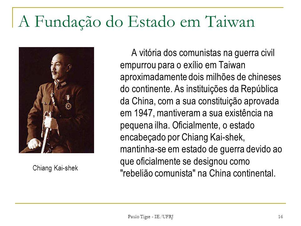 A Fundação do Estado em Taiwan