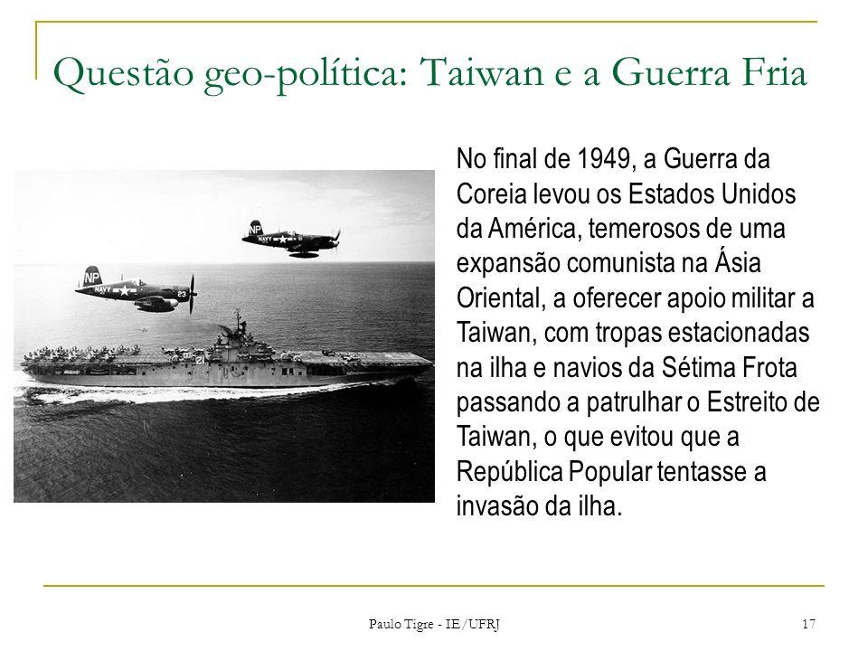 Questão geo-política: Taiwan e a Guerra Fria