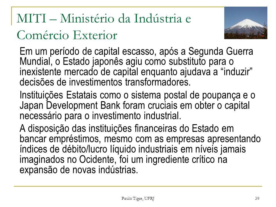 MITI – Ministério da Indústria e Comércio Exterior