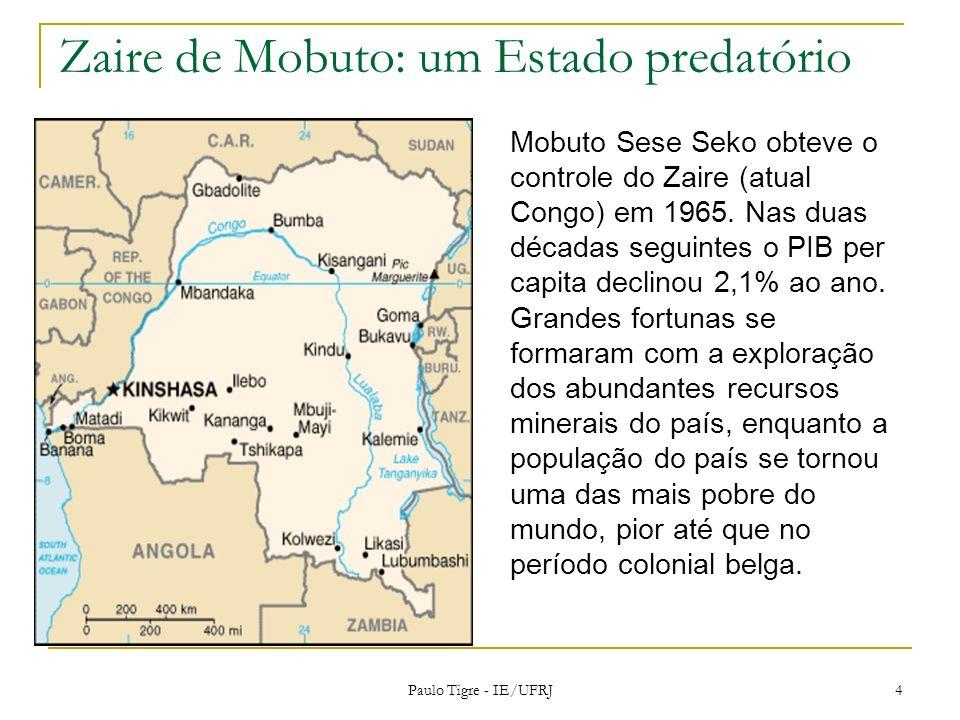 Zaire de Mobuto: um Estado predatório