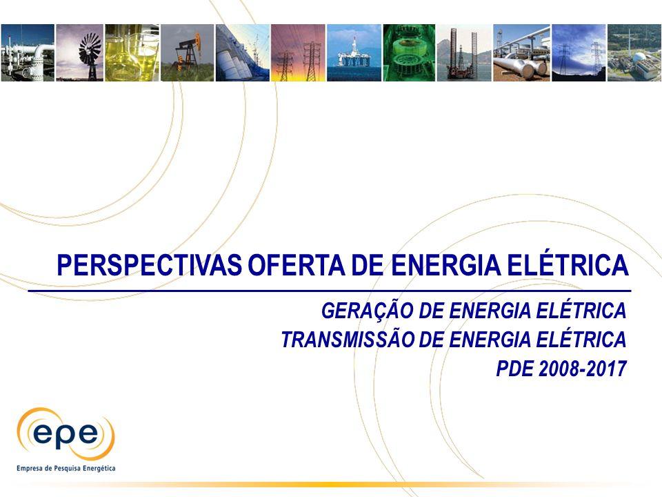 PERSPECTIVAS OFERTA DE ENERGIA ELÉTRICA