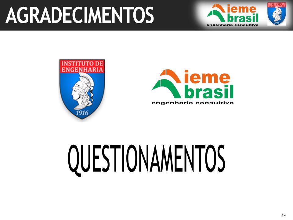 AGRADECIMENTOS QUESTIONAMENTOS 49 49