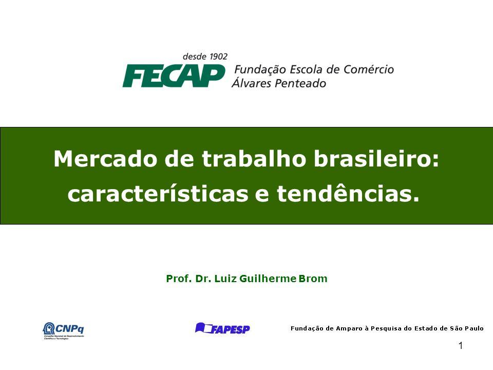 Mercado de trabalho brasileiro: características e tendências.