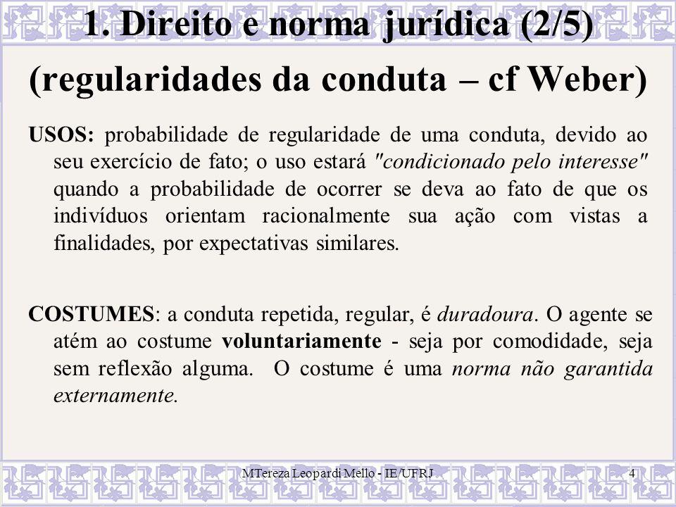 1. Direito e norma jurídica (2/5)