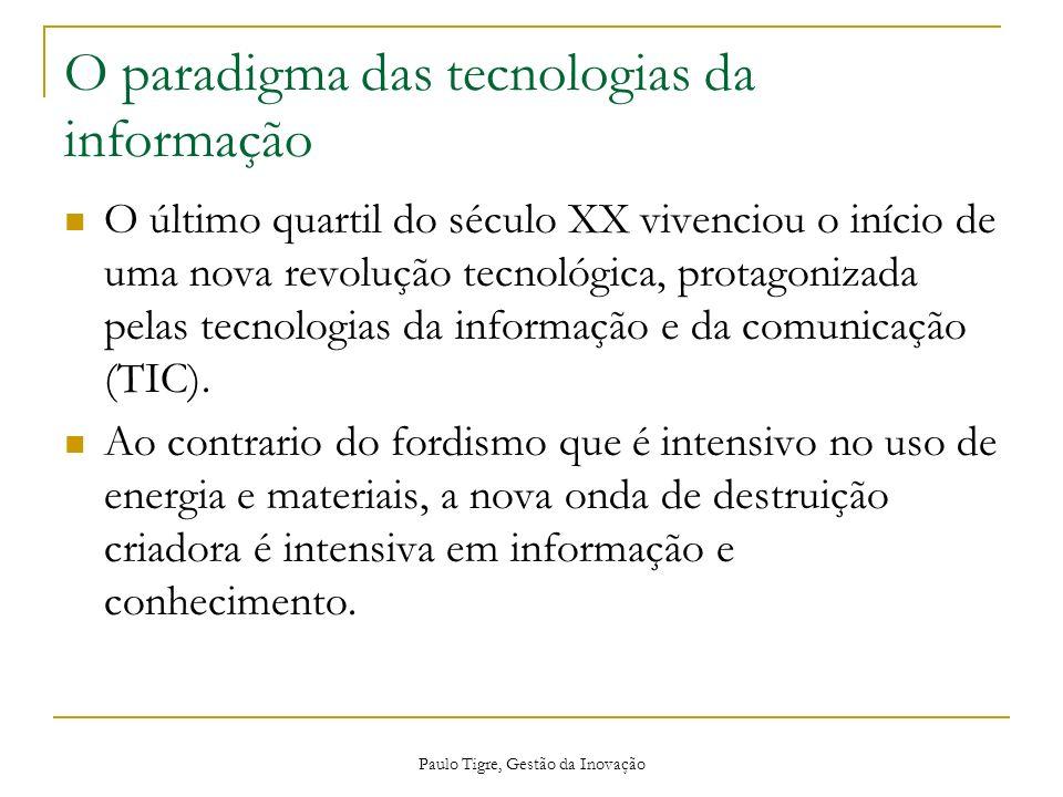 O paradigma das tecnologias da informação