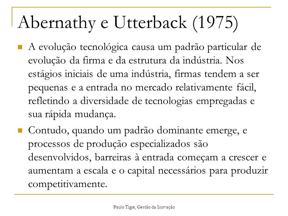 Abernathy e Utterback (1975)