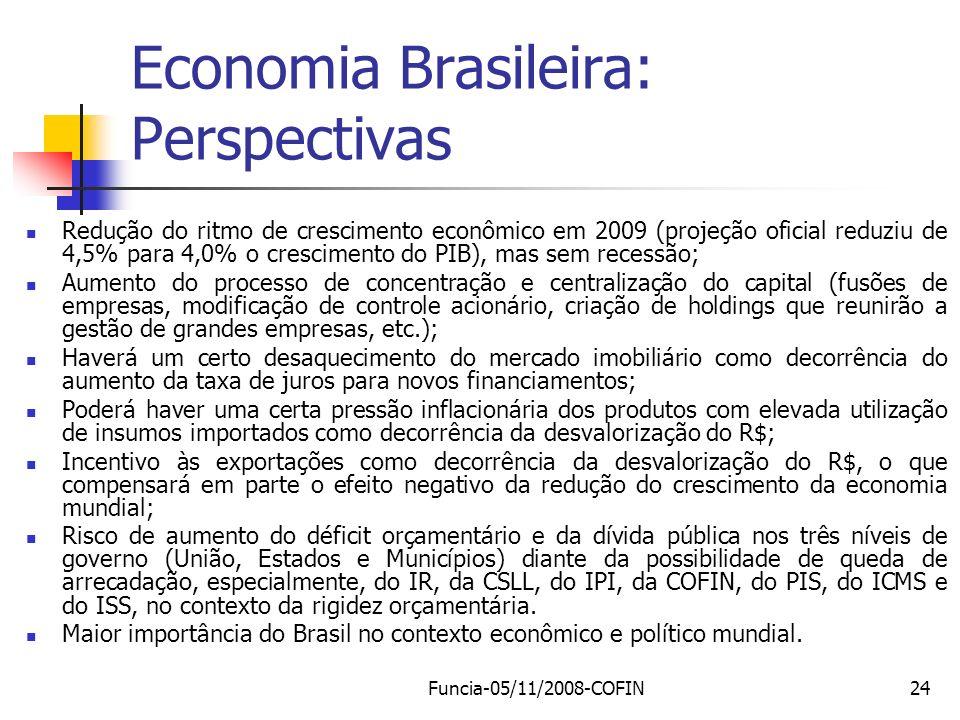 Economia Brasileira: Perspectivas