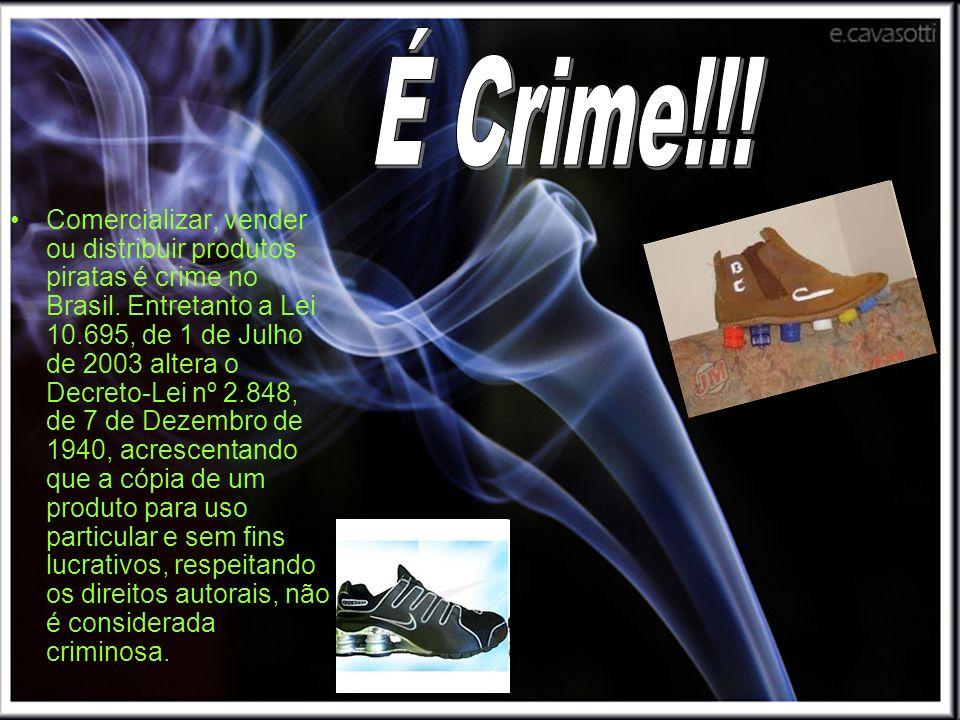 É Crime!!!