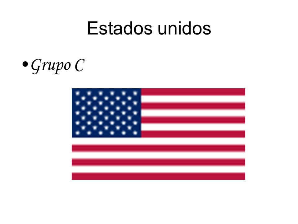 Estados unidos Grupo C